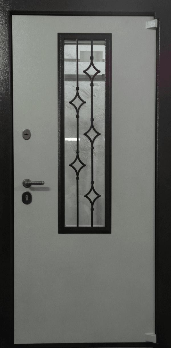железная дверь со стеклом серпухов
