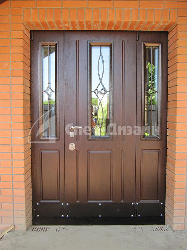качественные металлические входные двери в дом